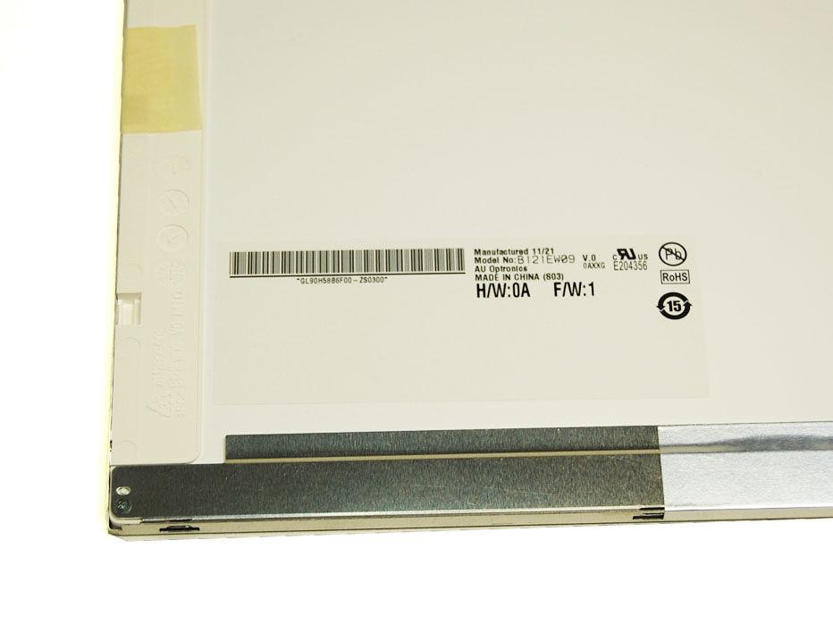 "AU-Optronics B121EW09 V.0 Display LCD 12,1"" 1280x800 LED glänzend"