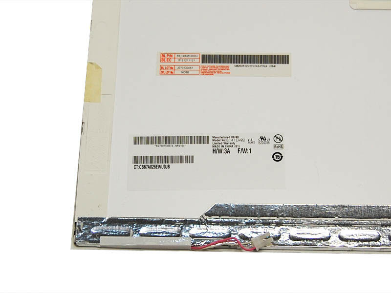 "AU-Optronics B141EW02 V.3 Display LCD 14,1"" 1280x800 CCFL glänzend"