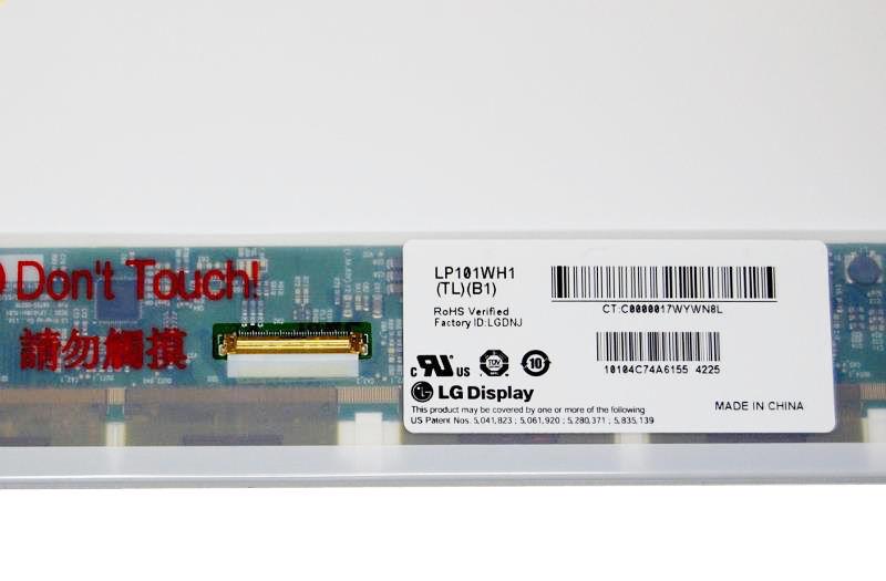 """LG LP101WH1 (TL) (B1) Display LCD 10,1"""" 1366x768 LED matt"""