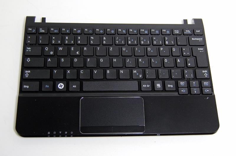 Tastatur mit Handauflage für Samsung NP-NC110-HZ1