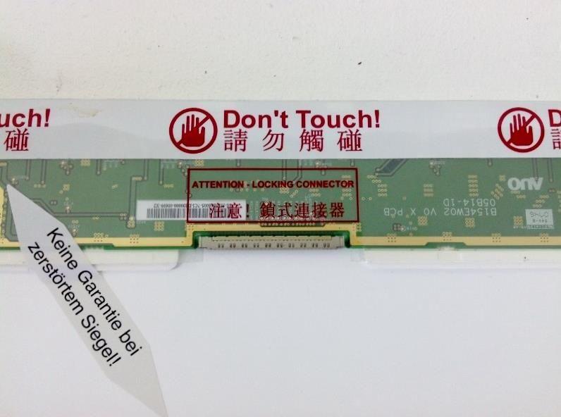 "AU-Optronics B154EW02 V.1 Display LCD 15,4"" 1280x800 CCFL glänzend"