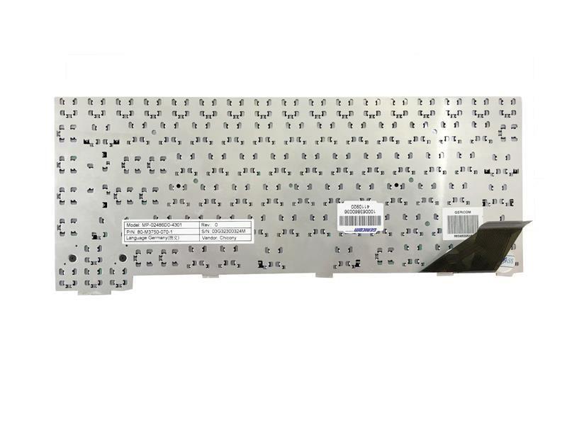 Tastatur für Clevo M37EW M38EW M38AW