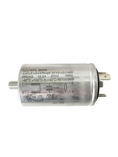 Privileg 123 E Kondensator KPL 3008 EN 133200