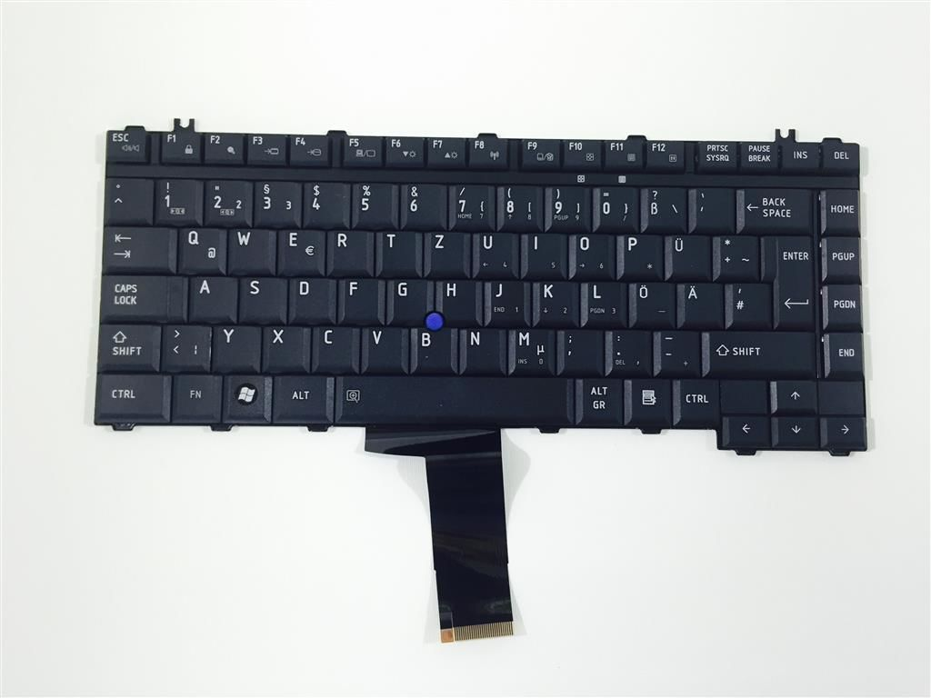 Toshiba G83C000872GR Notebooktastatur Deutsch für Tecra S5, M9, A9 Serie NEU