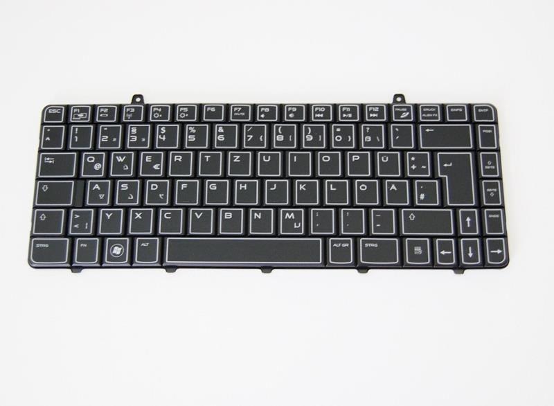 Original Dell deutsche Tastatur backlit YTCDD für Dell Alienware M11x R1