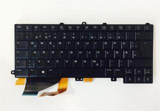 Orig. QWERTZ Tastatur Dell Alienware M14X-R3 M14 R3 M14R3 DE beleuchtet Neu