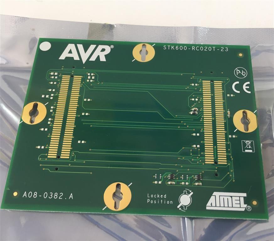 ATMEL - ATSTK600-RC26 - ROUTING CARD, 20 SOIC, FOR STK600