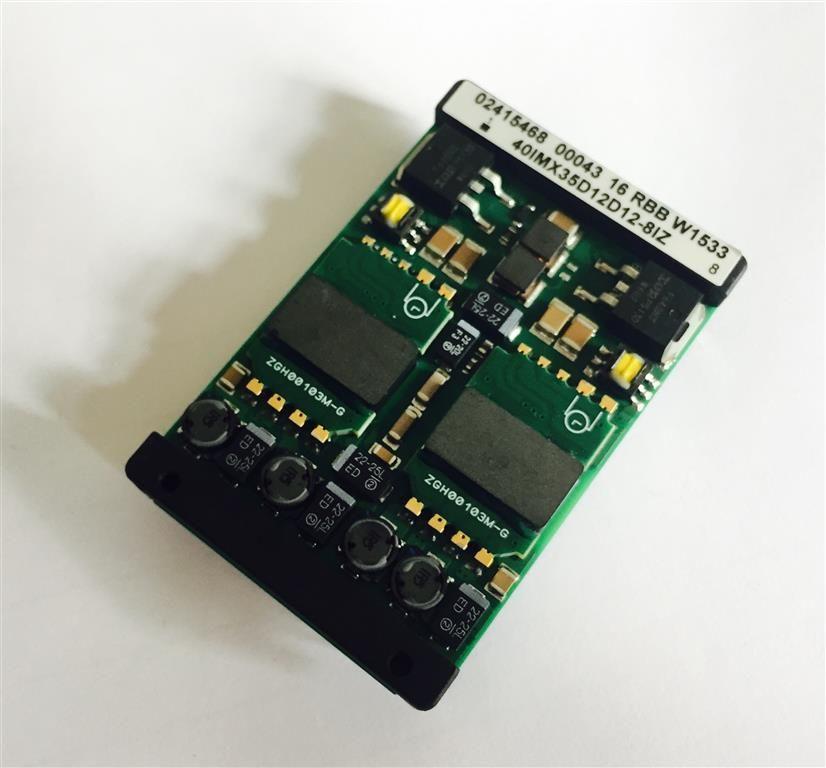Bel Power Solutions 40IMX35D12D12-8IZ DC DC Wandler 3x 12V bis 60V einstellbarer Output