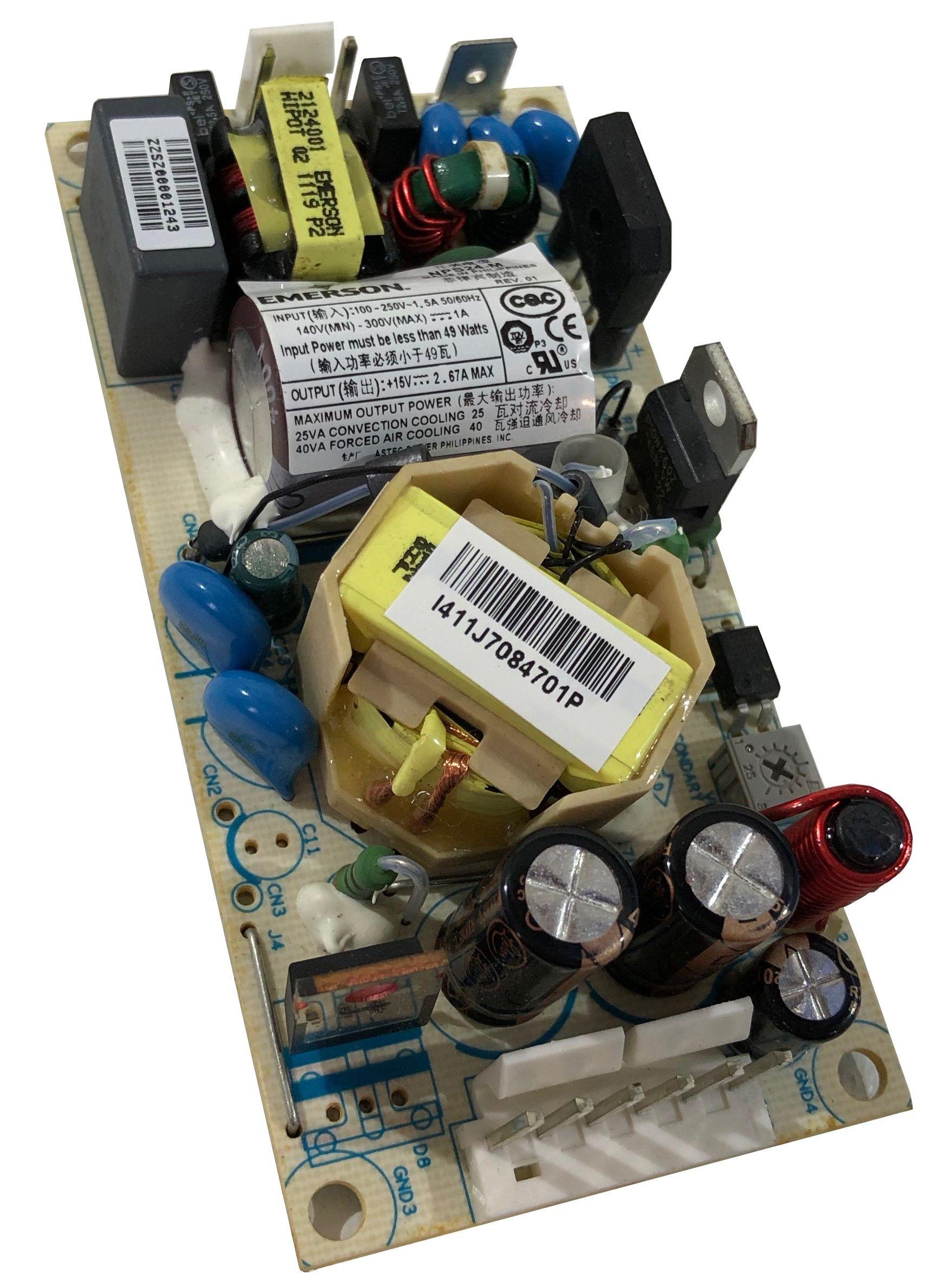 Emerson NPS24-M Einbau Schaltnetzteil 15V 3A 40W mit medizinischer Zulassung