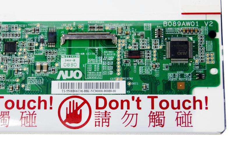 "AU-Optronics B089AW01 V.2 Display LCD 8,9"" 1024x600 WSVGA LED matt 40 pin"