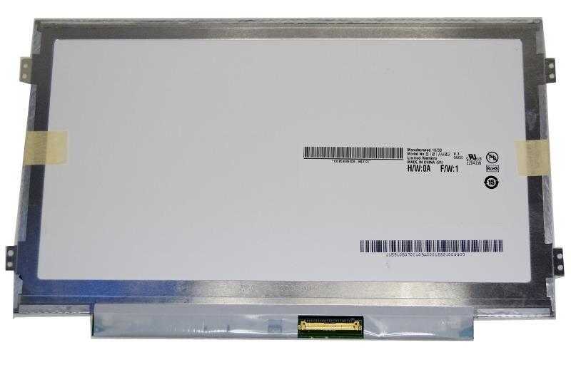 "AU-Optronics B101AW02 V.3 LTN101AT08 Display LCD 10,1"" 1024x600 WSVGA LED glänzend"