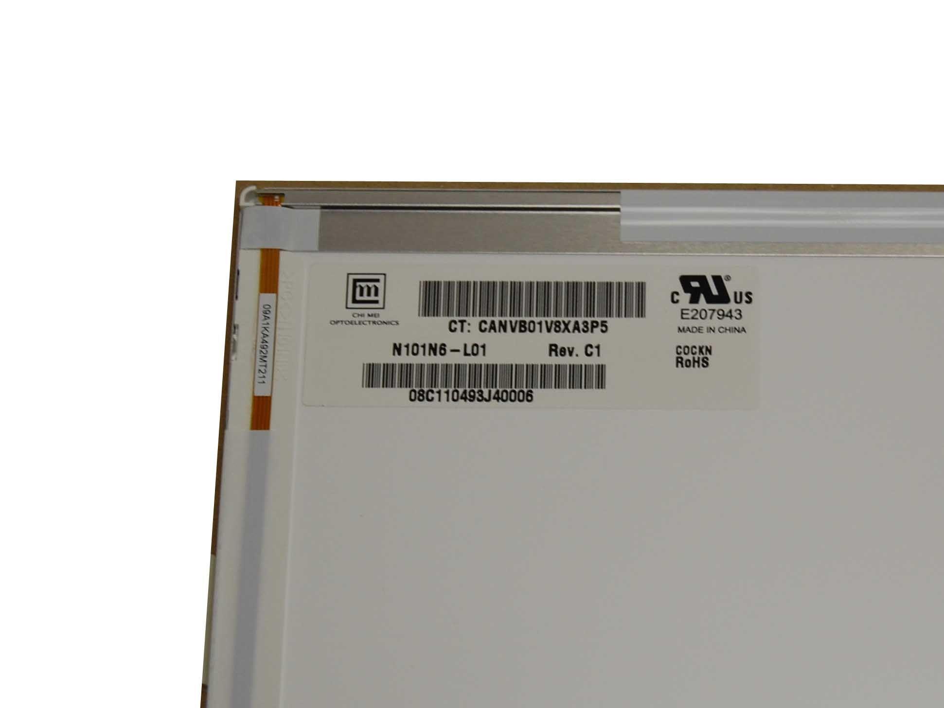 """ChiMei N101N6-L01 Display LCD 10,1"""" 1024x576 WSVGA LED matt"""